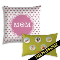 Buy ONE Cushion get ONE Kids Pillow Cover FREE