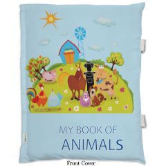 Animals Pillow cum book