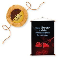 Personalised Rakhi And Wall Hanger