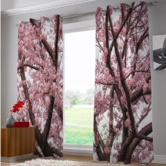 Door curtain (set of 2)