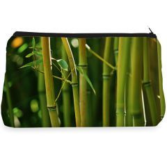 Green bamboo Make up Pouch