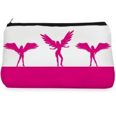 Pink wing mystical Make up pouch