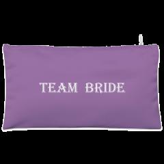 Purple team bride Cosmetic Pouch