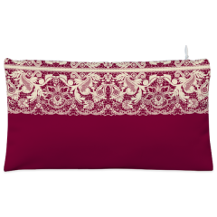 White lace Cosmetic Pouch