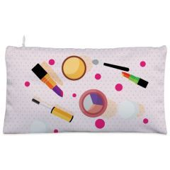 Pink make up stuffs Cosmetic Pouch