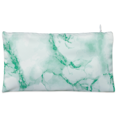 white marble Cosmetic Pouch