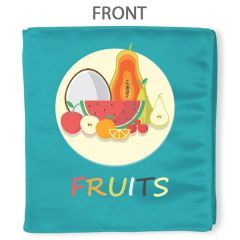 Fruit Fabric Book
