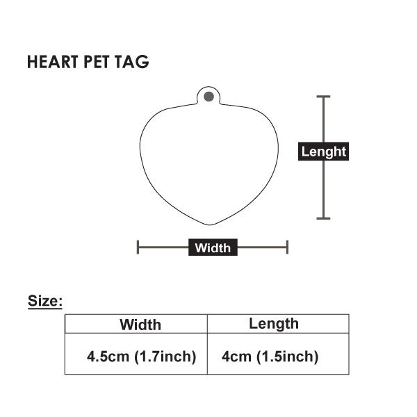 HEART-PET-TAG